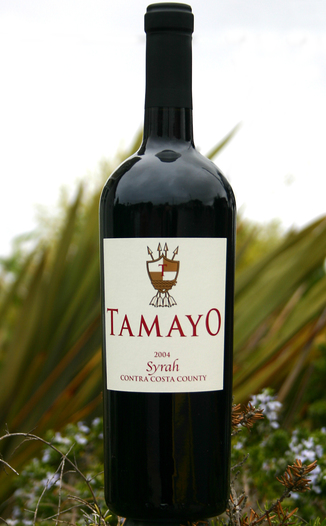 Tamayo Family Vineyards 2004 Estate Grown Syrah 750ml Wine Bottle