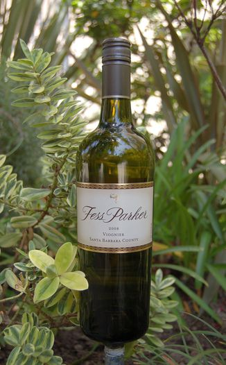 Fess Parker Winery 2008 Santa Barbara County Viognier 750ml Wine Bottle