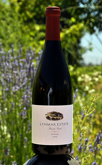 Lynmar Estate Winery 2006 Sonoma Coast Syrah 750ml Wine Bottle