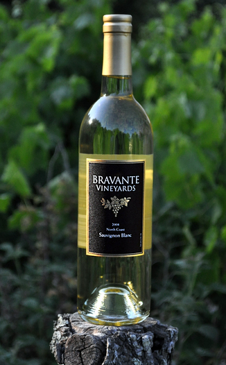 Bravante Vineyards 2008 North Coast Sauvignon Blanc 750ml Wine Bottle