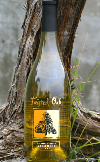 Twisted Oak Winery 2006 Calaveras County Viognier 750ml Wine Bottle
