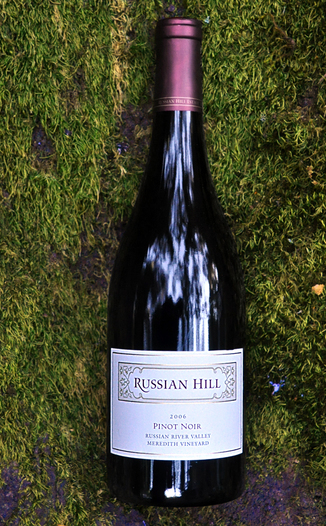 Russian Hill Estate Winery 2006 Meredith Vineyard Pinot Noir 750ml Wine Bottle