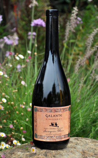 Galante Vineyards 2009 Carmel Valley Sauvignon Blanc 750ml Wine Bottle