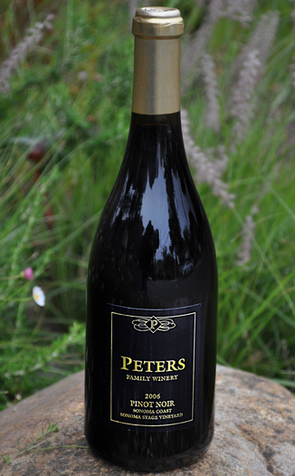 Peters Family Winery 2006 'Sonoma Stage Vineyard' Pinot Noir 750ml Wine Bottle