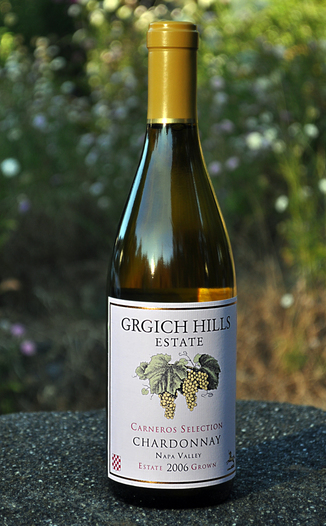 Grgich Hills Estate 2006 Carneros Selection Chardonnay 750ml Wine Bottle
