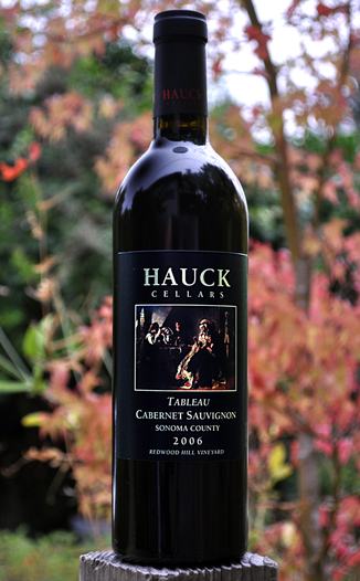 Hauck Cellars 2006 Tableau Cabernet Sauvignon 750ml Wine Bottle