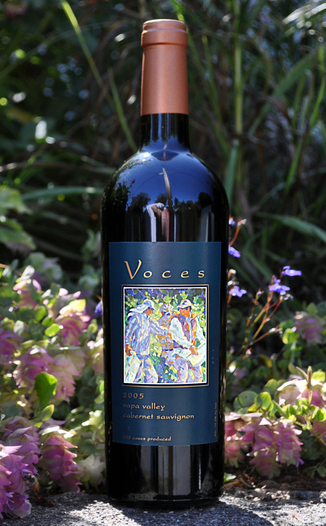 Voces Wine 2005 Napa Valley Cabernet Sauvignon 750ml Wine Bottle