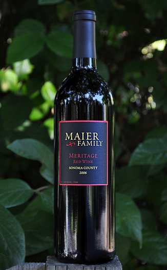 St. Helena Road Winery 2006 Maier Family Meritage 750ml Wine Bottle