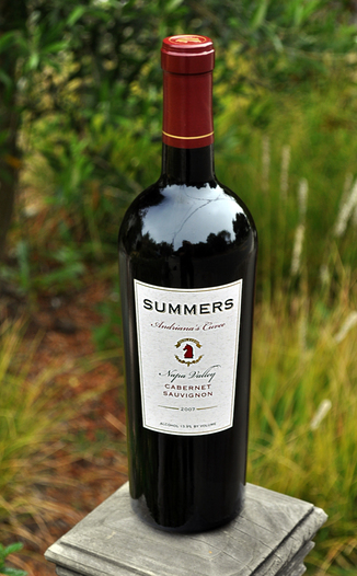 Summers Estate Wines 2007 Andriana's Cuvee Cabernet Sauvignon 750ml Wine Bottle
