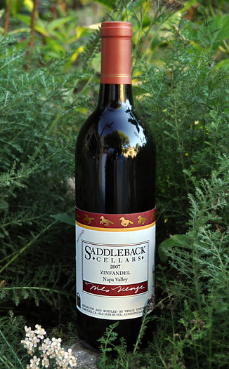 Saddleback Cellars 2007 Old Vine Zinfandel 750ml Wine Bottle