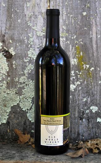 Old World Winery 2004 Two Rock Block Cabernet Sauvignon 750ml Wine Bottle