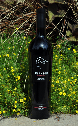 Swanson Vineyards 2006 Oakville Merlot 750ml Wine Bottle