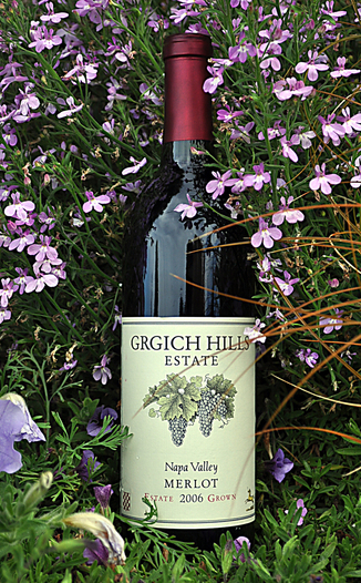 Grgich Hills Estate 2006 Napa Valley Merlot 750ml Wine Bottle