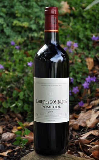 Chateau Gombaude-Guillot 2005 Cadet de Gombaude Pomerol 750ml Wine Bottle