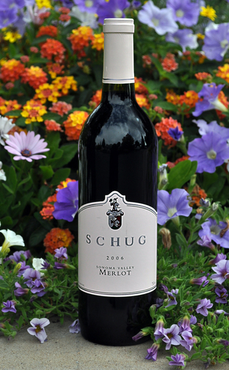 Schug Carneros Estate 2006 Sonoma Valley Merlot 750ml Wine Bottle