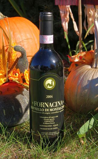 Az. Agr. Fornacina 2004 Brunello di Montalcino D.O.C.G. 750ml Wine Bottle