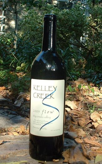 Kelley Creek Winery 2005 Flow (Bordeaux Style Blend) 750ml Wine Bottle