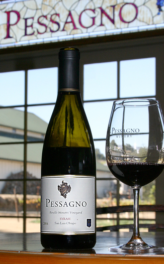 Pessagno Winery 2004 Syrah 750ml Wine Bottle