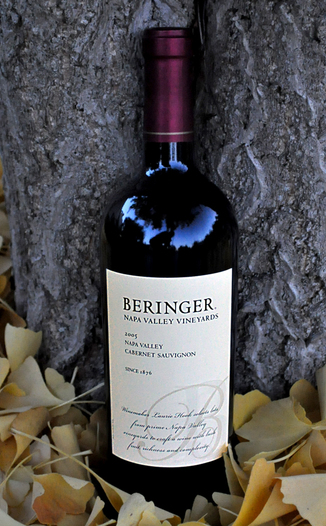 Beringer Vineyards 2005 Napa Valley Cabernet Sauvignon 750ml Wine Bottle