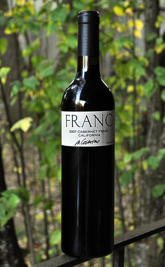 Cosentino Winery 2007 The Franc 750ml Wine Bottle