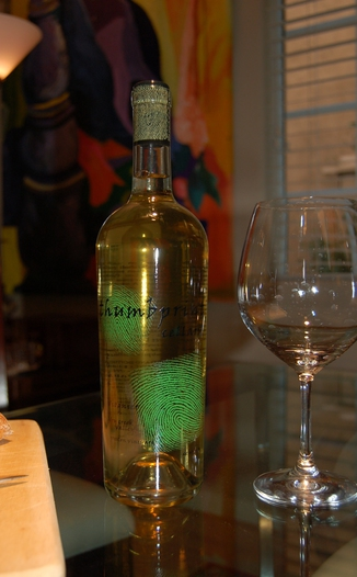 Thumbprint Cellars 2006 Thumbprint Viognier 750ml Wine Bottle