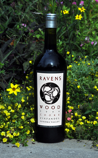 Ravenswood Winery 2006 Cooke Vineyard Zinfandel 750ml Wine Bottle