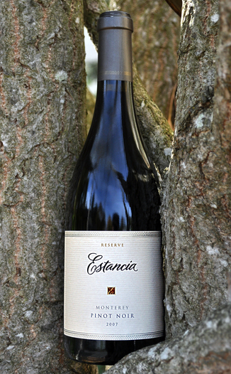 Estancia Estates 2007 Reserve Pinot Noir 750ml Wine Bottle
