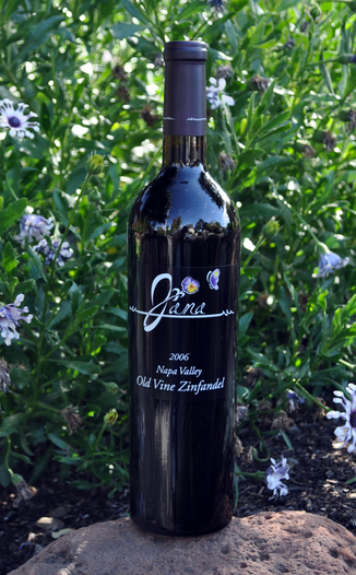Scott Harvey Wines 2006 Jana Napa Valley Old Vine Zinfandel 750ml Wine Bottle