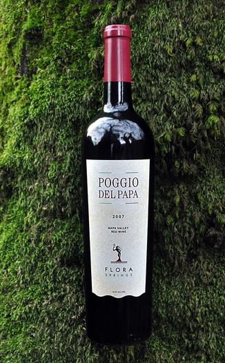 Flora Springs 2007 Poggio Del Papa 'Super Tuscan' 750ml Wine Bottle