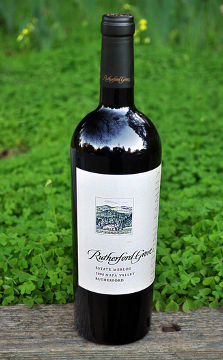 Rutherford Grove 2006 Napa Valley Estate Merlot 750ml Wine Bottle