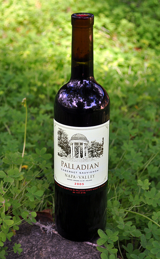 Palladian Estate Winery 2005 Napa Valley Cabernet Sauvignon 750ml Wine Bottle