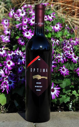 Optima Wine Cellars 2008 Dry Creek Valley Zinfandel 750ml Wine Bottle
