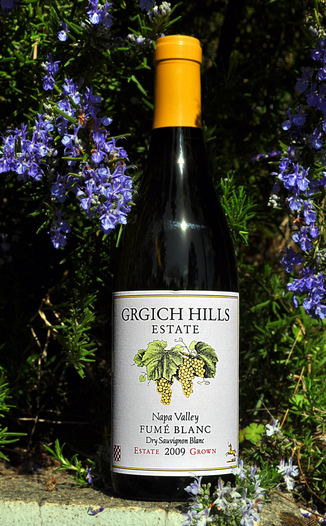 Grgich Hills Estate 2009 Napa Valley Fumé Blanc 750ml Wine Bottle