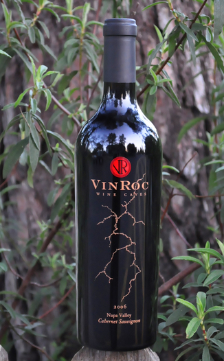VinRoc Wine Caves 2006 Napa Valley Cabernet Sauvignon 750ml Wine Bottle