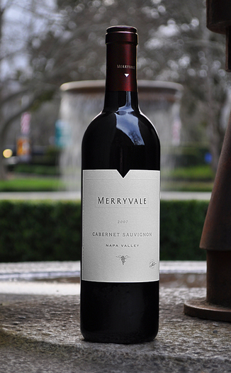 Merryvale Vineyards 2007 Napa Valley Cabernet Sauvignon 750ml Wine Bottle