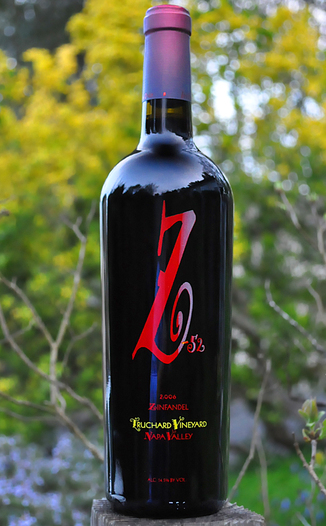 Z-52 Cellars 2006 Truchard Vineyard Old Vines Zinfandel 750ml Wine Bottle