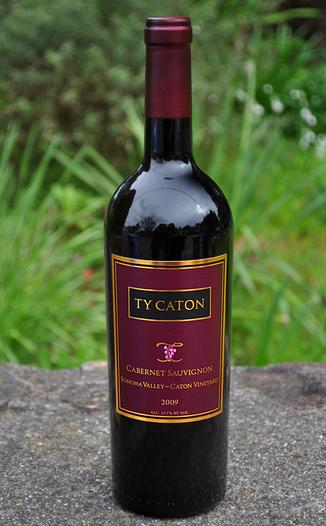 Ty Caton Vineyards 2009 Sonoma Valley Cabernet Sauvignon 750ml Wine Bottle