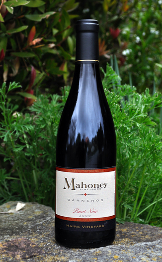 Mahoney Vineyards 2009 Carneros Pinot Noir 750ml Wine Bottle