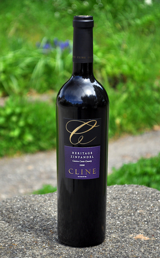 Cline Cellars 2008 Heritage Zinfandel 750ml Wine Bottle