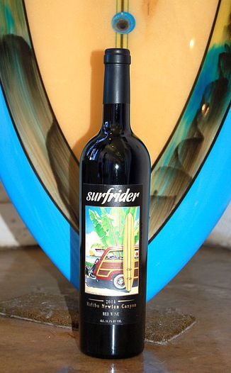 Rosenthal - The Malibu Estate 2004 Surfrider - Red 750ml Wine Bottle