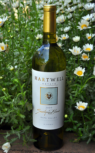 Hartwell Vineyards 2009 Estate Sauvignon Blanc 750ml Wine Bottle
