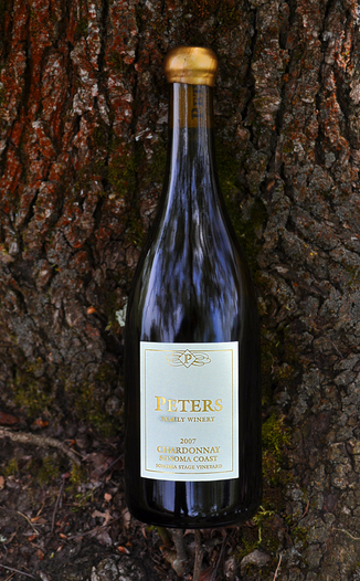 Peters Family Winery 2007 'Sonoma Stage Vineyard' Chardonnay 750ml Wine Bottle