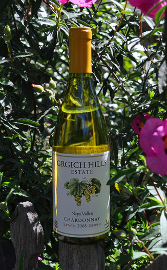 Grgich Hills Estate 2008 Napa Valley Chardonnay 750ml Wine Bottle