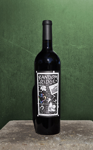 Random Ridge 2007 Cabernet Franc 750ml Wine Bottle