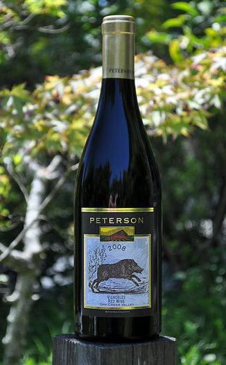 Peterson Winery 2008 Vignobles Red Wine 750ml Wine Bottle