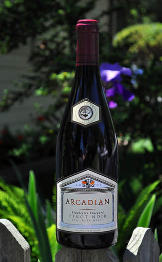 Arcadian Winery 2005 Fiddlestix Vineyard Pinot Noir 750ml Wine Bottle