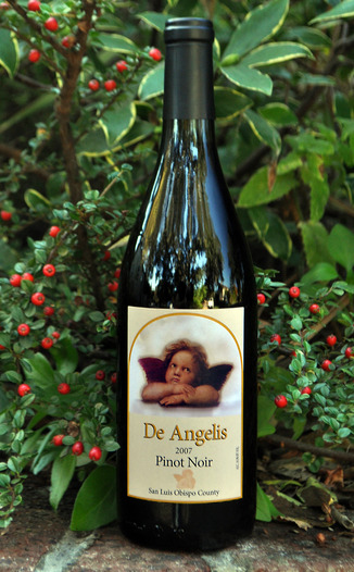 De Angelis Wines 2007 Pinot Noir 750ml Wine Bottle
