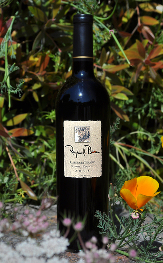 Raymond Burr Vineyards 2008 Dry Creek Valley Cabernet Franc 750ml Wine Bottle