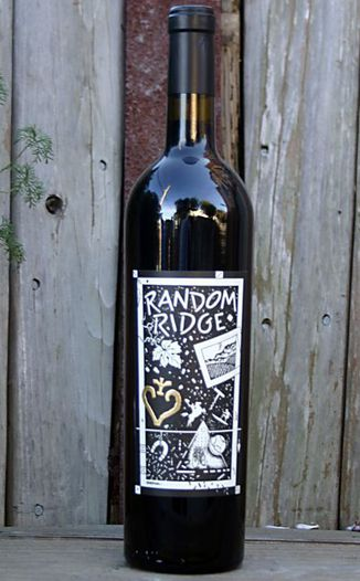 Random Ridge 2001 Cabernets 750ml Wine Bottle