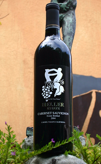 Heller Estate 2004 Cabernet Sauvignon 750ml Wine Bottle